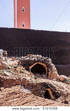 Morocco, Pottery Furnace