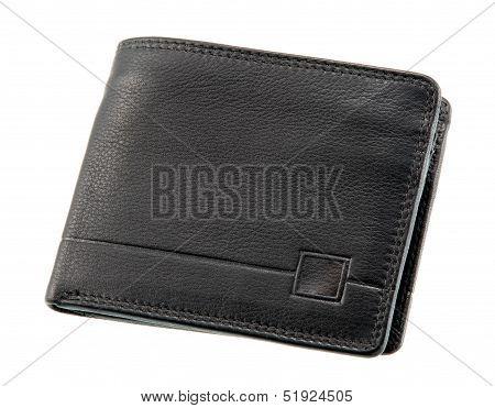 Black Plain Wallet