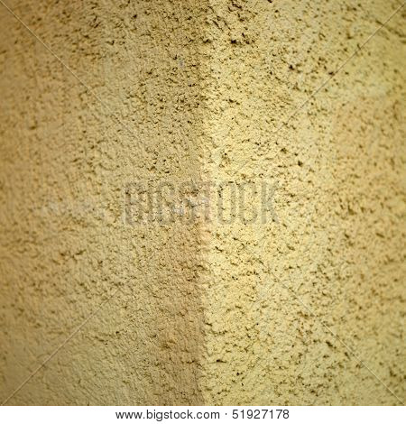 Orange Stucco Wall