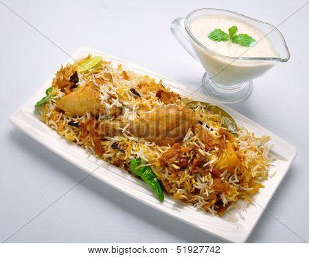 Chicken Biryani-Q
