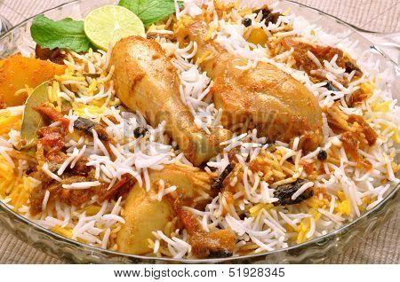 Chicken Biryani-