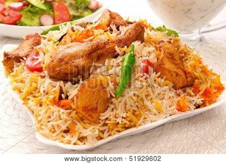 Chicken Biryani-H