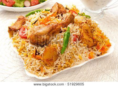 Chicken Biryani-G