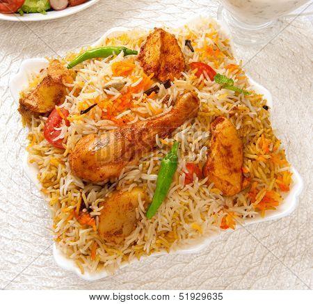 Chicken Biryani-A