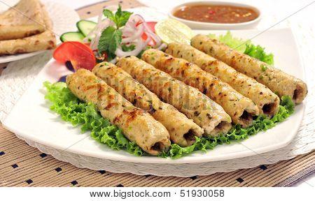 Chicken Seekh Kabab-J