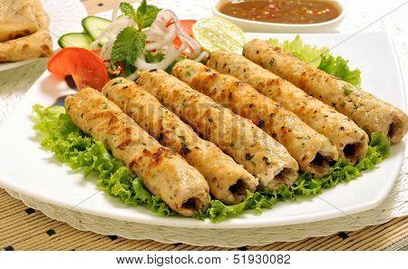Chicken Seekh Kabab-I