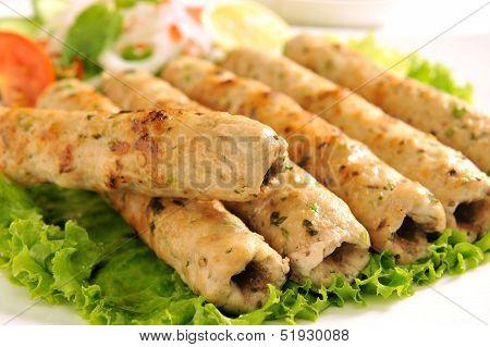 Chicken Seekh Kabab-H