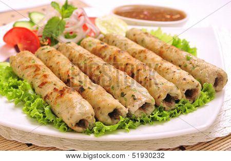 Chicken Seekh Kabab-D