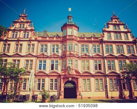 Retro Look Gutenberg Museum
