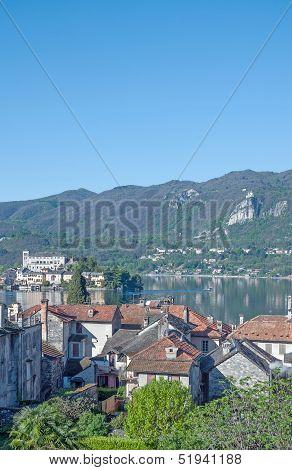 Lake Orta,italian Lake District