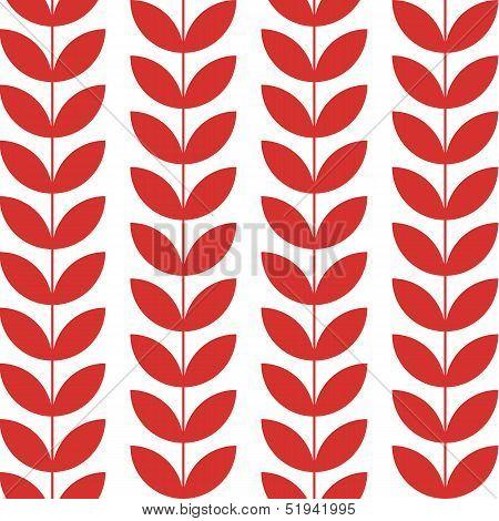 Flower pattern seamless background