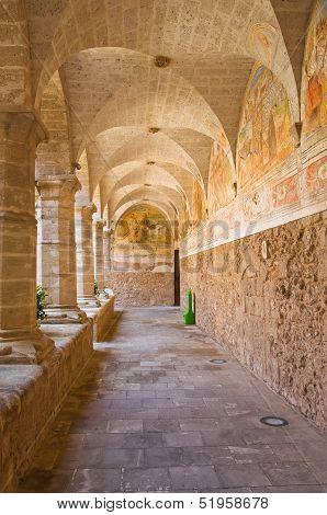 Church of St. Maria delle Grazie. Maruggio. Puglia. Italy.