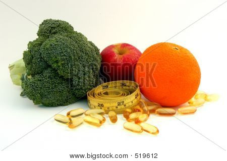 Healty Food And Supplement