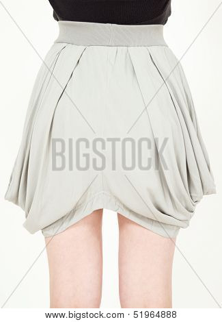 Trendy fashion skirt