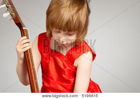 Girl Play The Guitar.