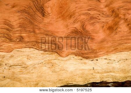 Wavy-figured Bubinga Wood