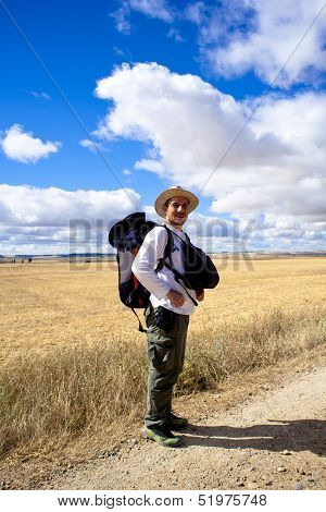 Pilgrims, Way Of St. James - Spain