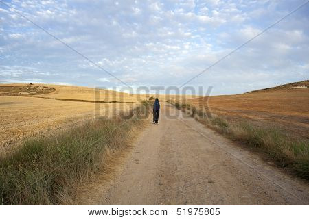 Pilgrims Along The Way Of St. James - Spain