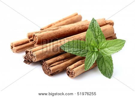 Cinnamon with mint