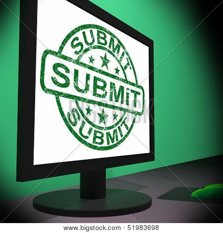 Submit Monitor Shows Apply Submission Or Application