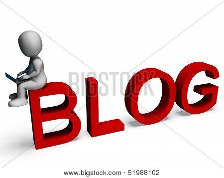 Blog Media Shows Weblog Website