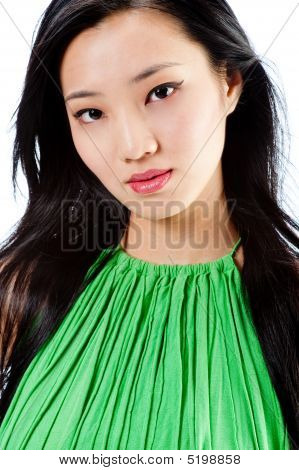 An Attractive Asian Woman
