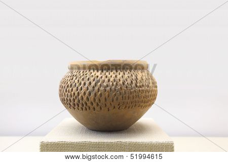 Primitive Earthen Jar