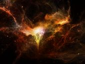 stock photo of cosmos  - Algorithmic Cosmos series - JPG
