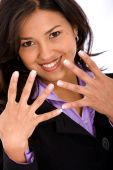 Business Woman's Hands