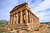 stock photo of world-famous  - Agrigento Sicily island in Italy - JPG