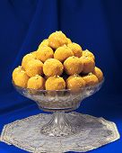 image of laddu  - Delicious - JPG