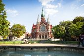 KRAKOW, POLAND - SEP 4: Church St Joseph - a historic Roman Catholic church in south-central part of