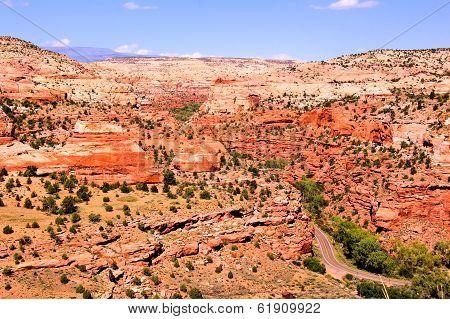 Rugged Utah landscape
