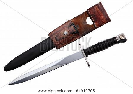 Swiss Army Dagger, Military Bayonet Knife, Antique Weapons.