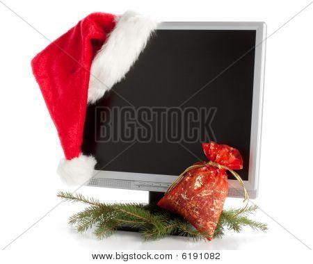 Christmas Lcd Monitor