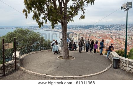Nice - Viewpoint On The Castle Hill
