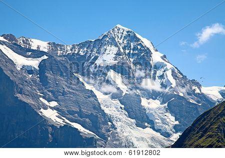Mont Moench(Monk) in the Jungfrau region