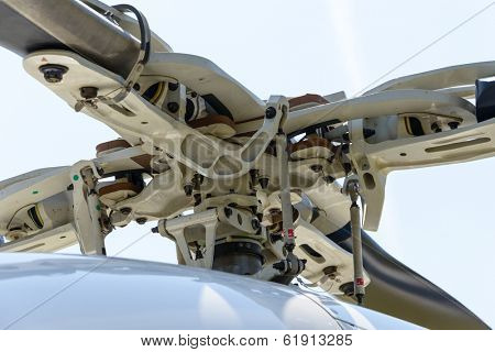 Helicopter rotor detail