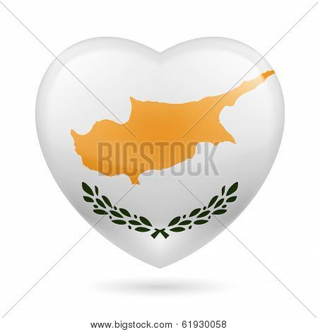 Heart icon of Cyprus