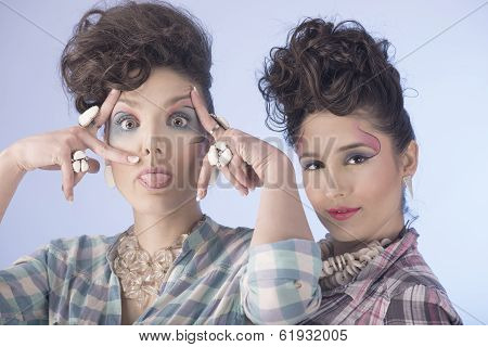 Girls in Fashion Make up