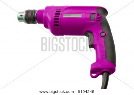 Pink Electric Drill