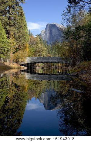 Half Dome Behindsentinel Bridge
