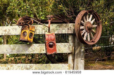 Old Lights & Wheel