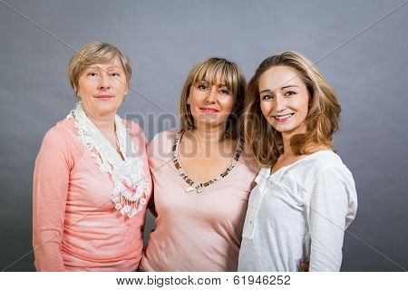 Three Generations With A Striking Resemblance