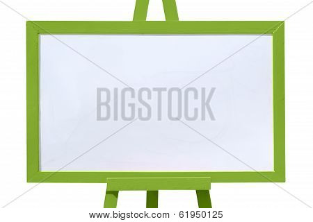 Blank Green, White Board