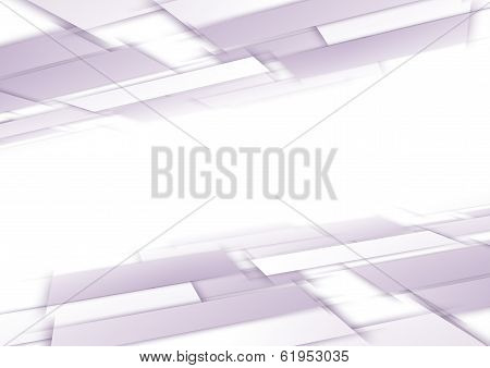 Tile Fly Perspective Purple Background