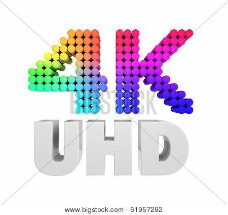Ultra HD 4K icon