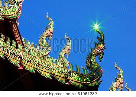 Naga And Reflective Light