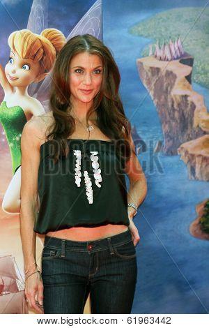 LOS ANGELES - MAR 22:  Samantha Harris at the Pirate Fairy Movie Premiere at Walt Disney Studios Lot on March 22, 2014 in Burbank, CA