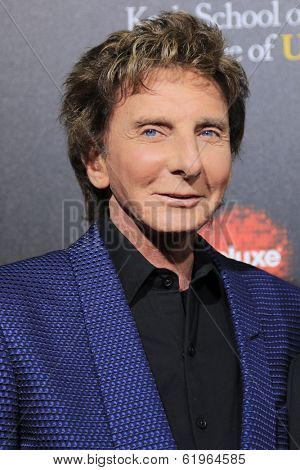 LOS ANGELES - MAR 20:  Barry Manilow at the 2nd Annual Rebels With A Cause Gala at Paramount Studios on March 20, 2014 in Los Angeles, CA